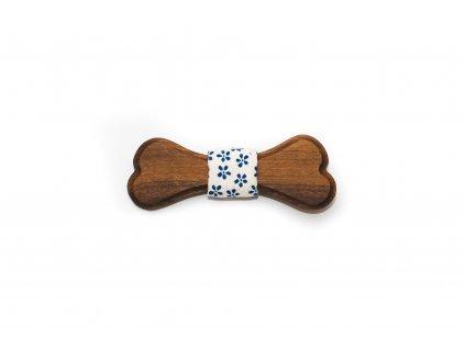 Dřevěný motýlek Keks 8 cm
