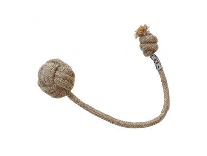 Funky Dog Lněná pletená hračka
