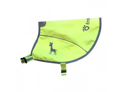Tractive neonová reflexní vesta s kapsou pro GPS