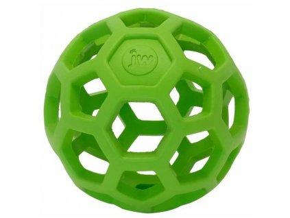 JW Hol-EE děrovaný míč zelený