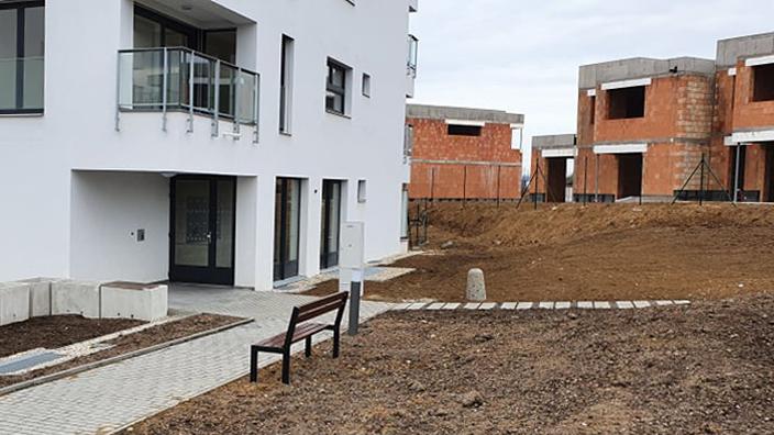 Výstavba nových rodinných domů