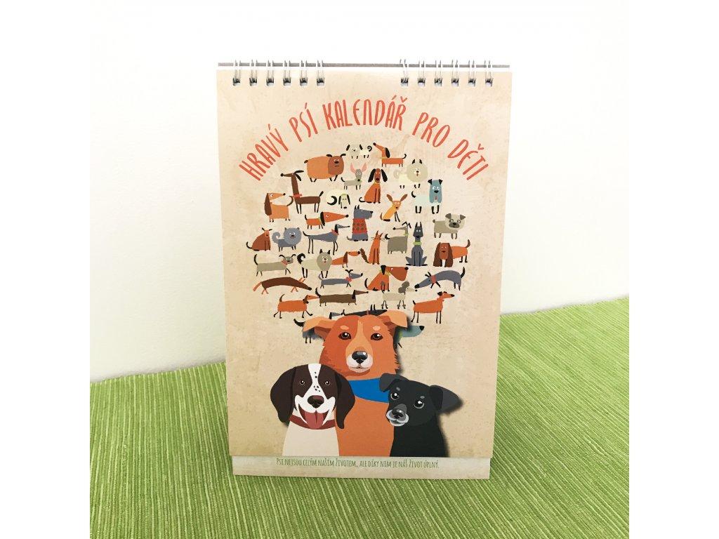 Hravy psi kalendar pro deti