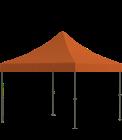 Nůžkový stan 3 x 3 m