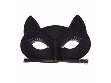 Maska na karneval kočka