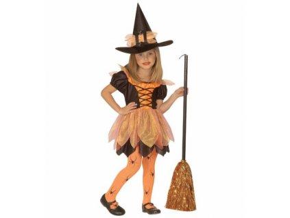 Kostým čarodějnice pro děti