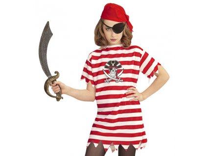 Maska pirát dětská