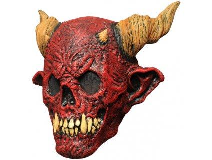 Celohlavová maska čerta