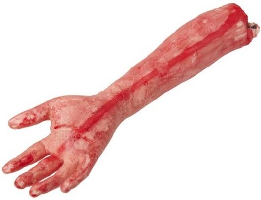 Useklé části těla