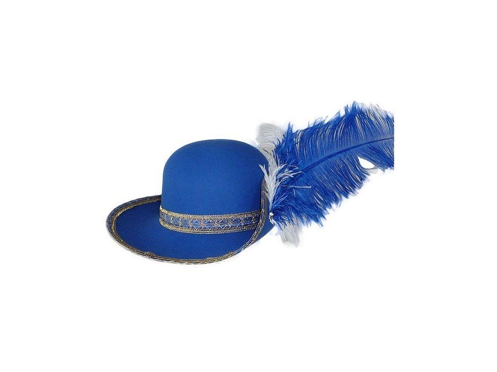 klobouk mušketyr