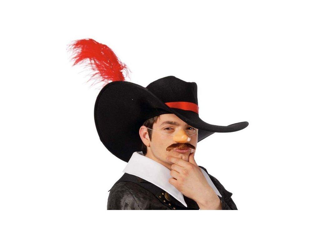 klobouk musketyr