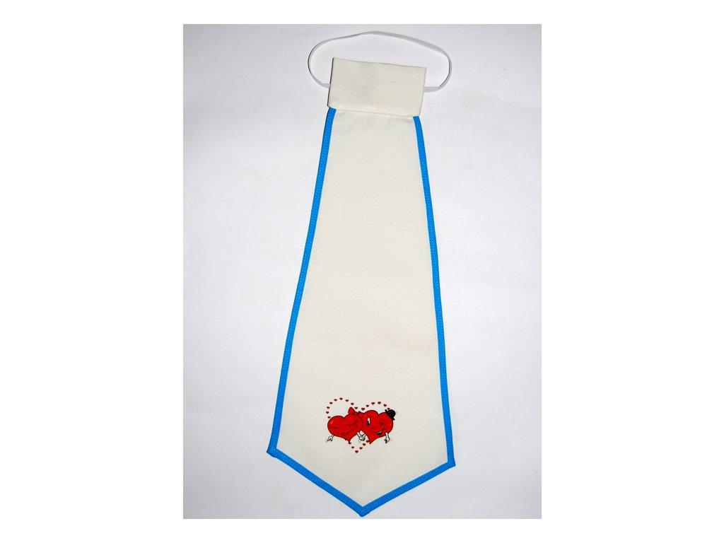 kravata srdce
