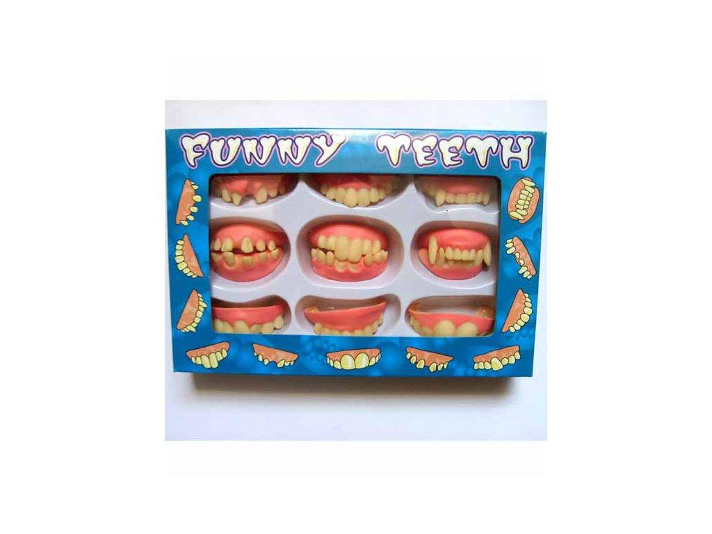 zuby sada ruzne druhy