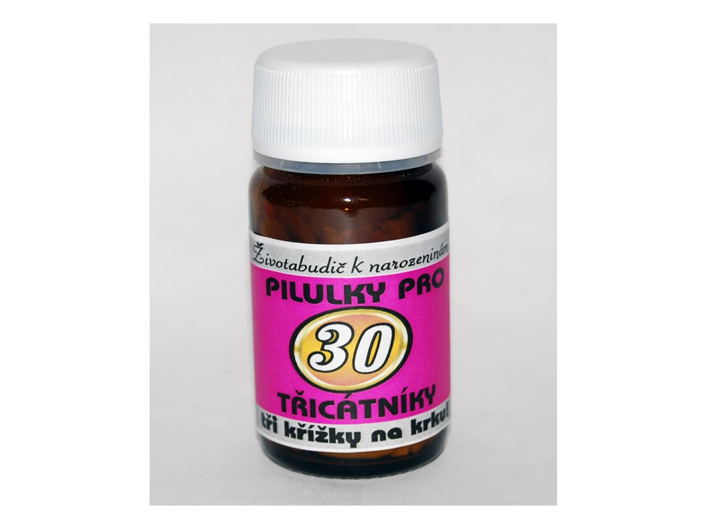 pilulky k 30 narozeninam