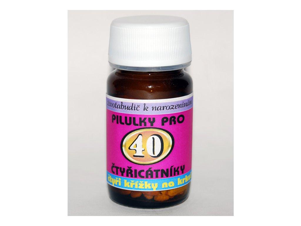 pilulky 40 narozeniny