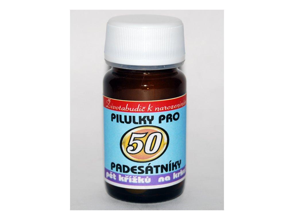 pilulky 50 narozeniny