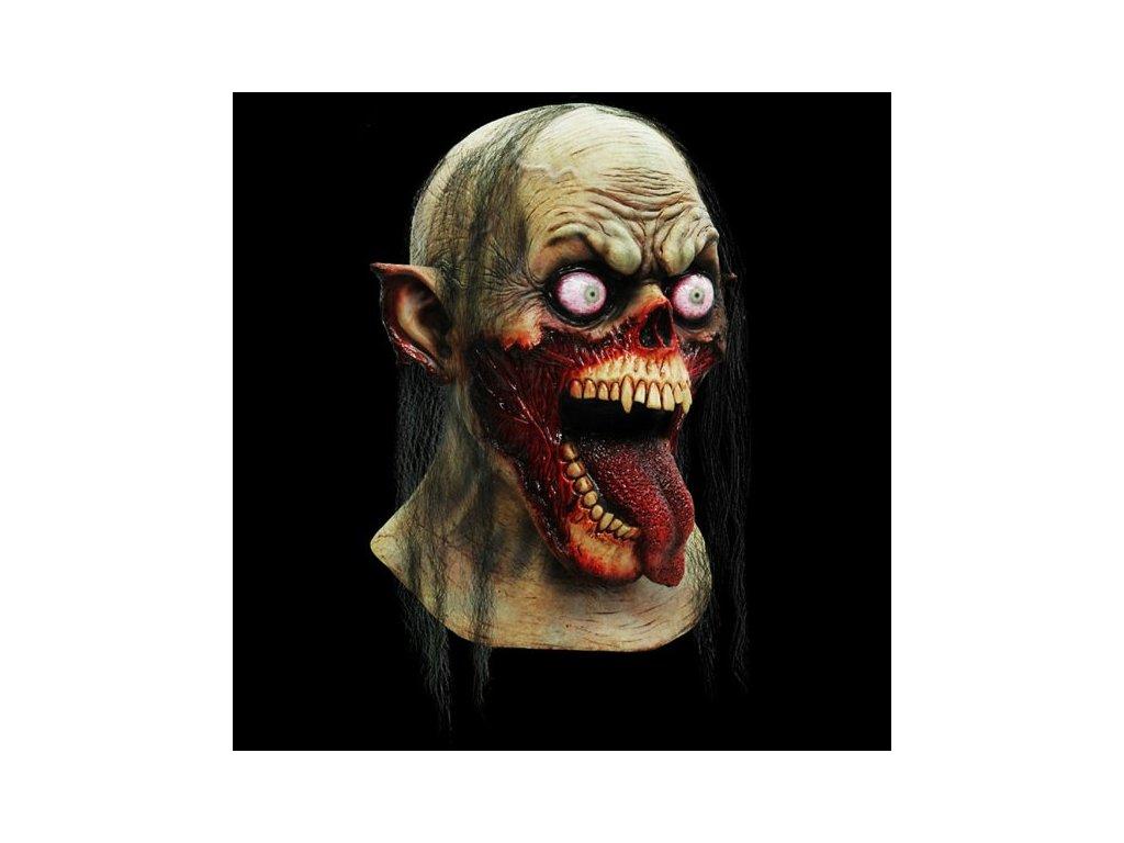 maska zombie strasidlo prisera