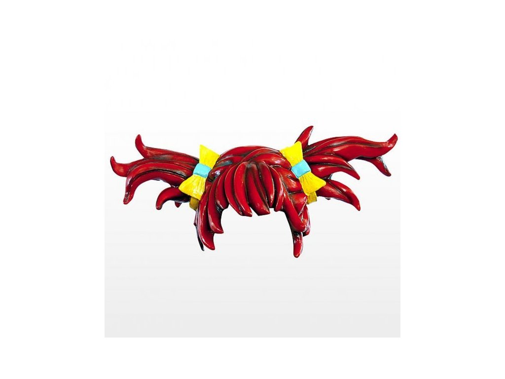 paruka cervena latexova