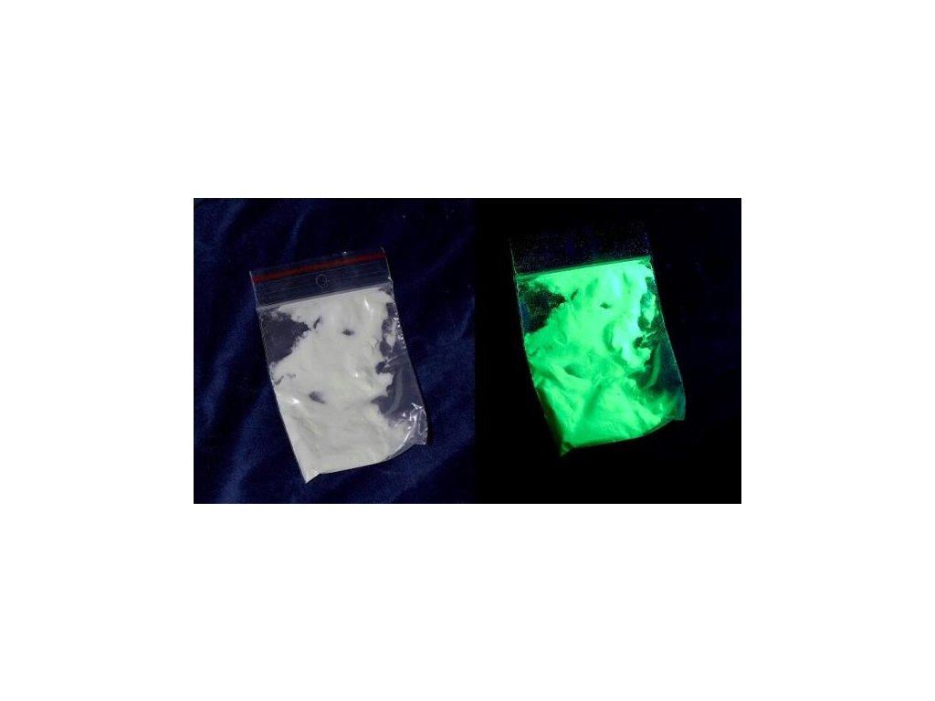 fotolumiscencni pigment svitici zeleny