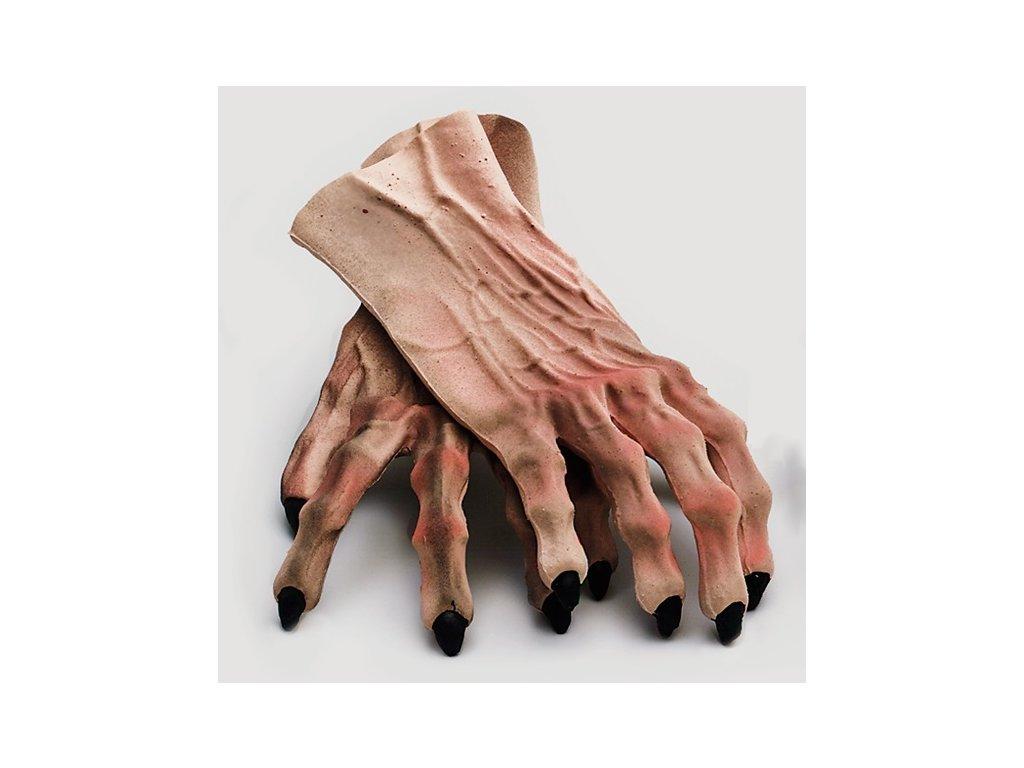 ruce drapy rukavice