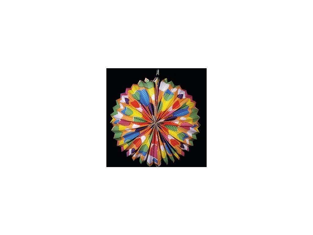 Lampion barevný průměr 25cm