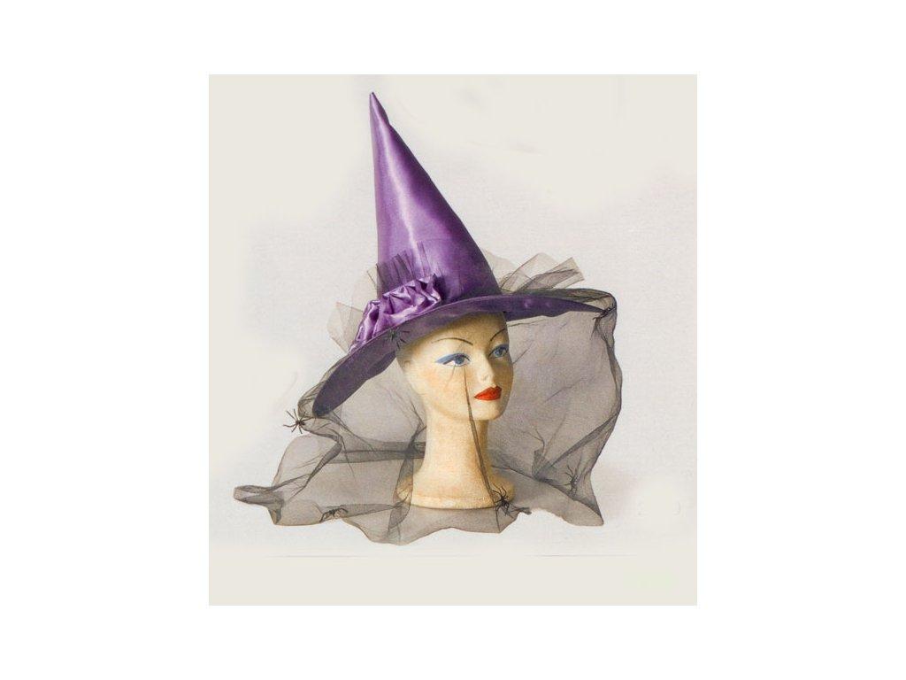Klobouk čarodějnický fialový - Ptákoviny-CB ce5671722a