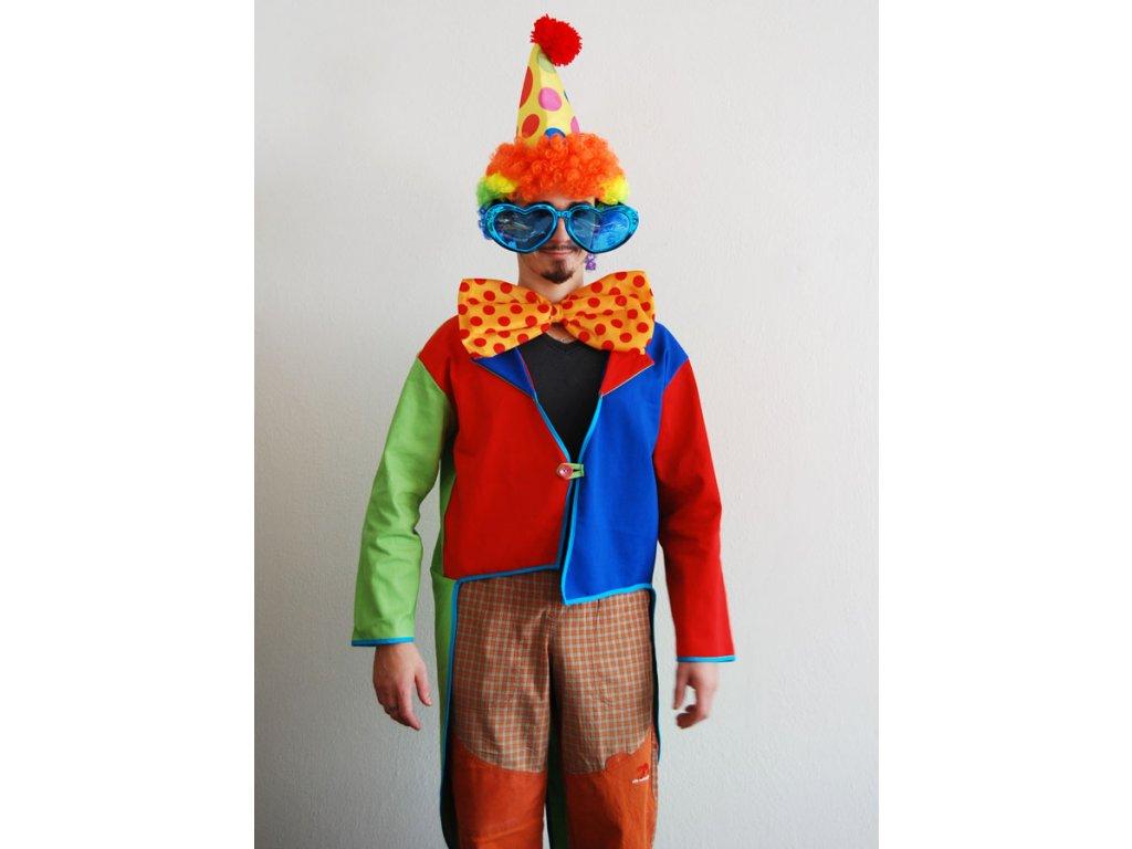 frak klaun barevny