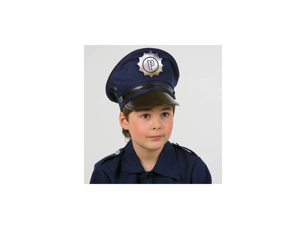 Dětská policejní čepice 39573fa727