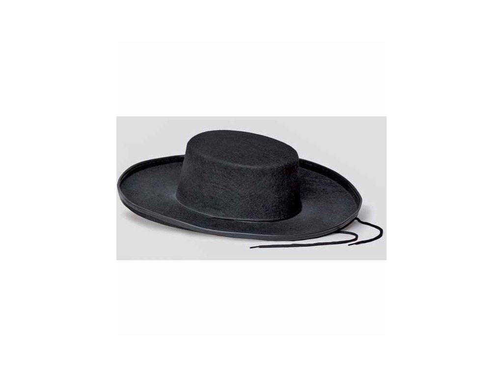 klobouk siroky lem farar zid