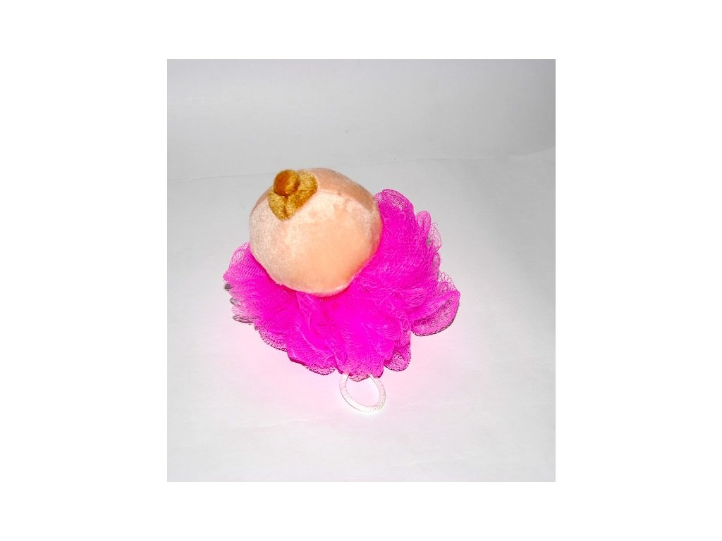 houba zinka na myti s prsem