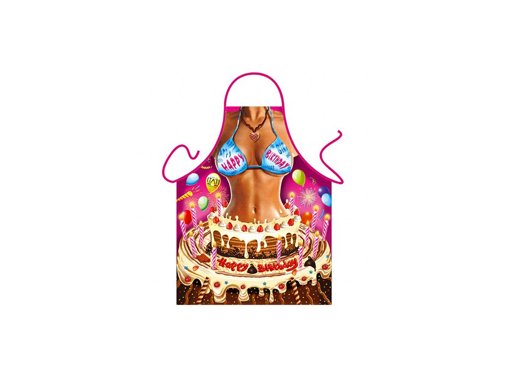 zastera zena z dortu