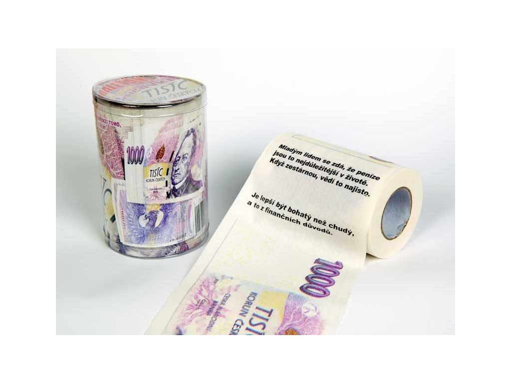 toaletni papir 1000 Kc