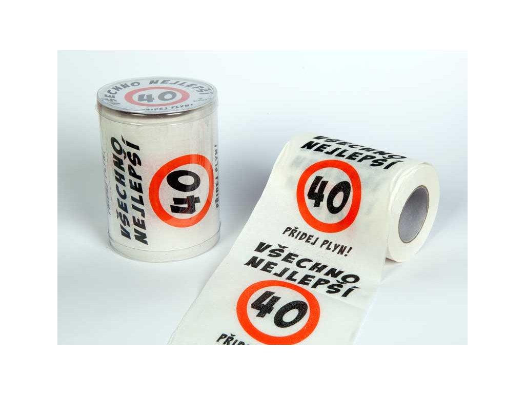 toaletni papir 40