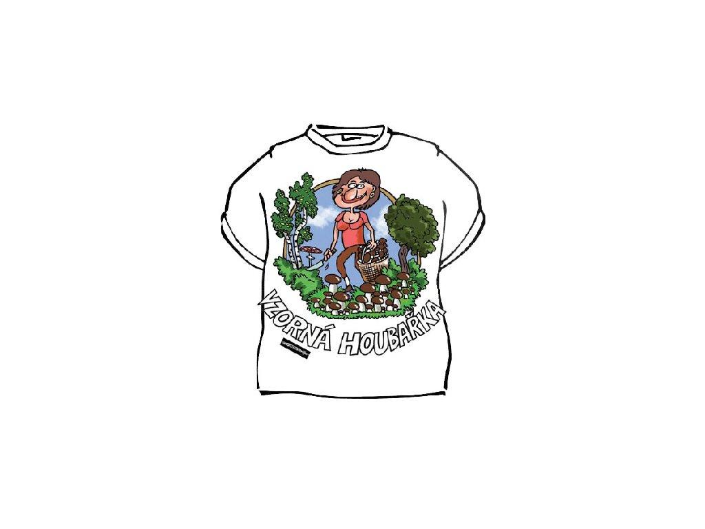 Tričko - Vzorná houbařka