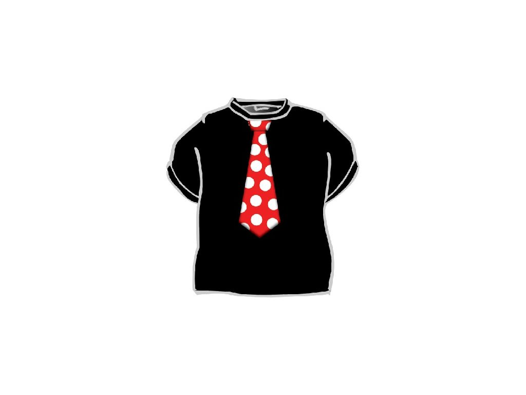 Tričko - Kravata