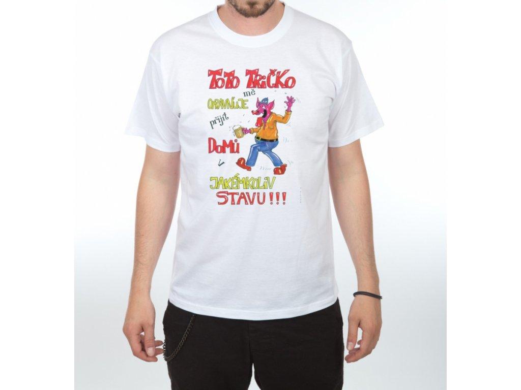 Tričko - Toto tričko mě opravňuje