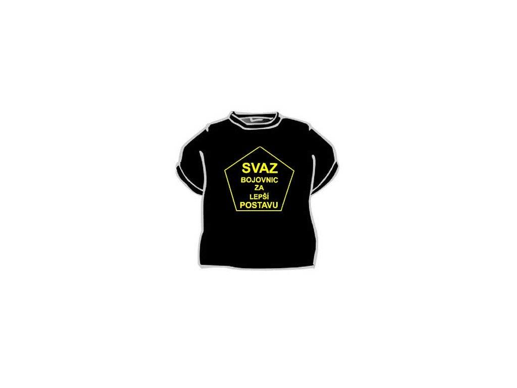 Tričko - Svaz bojovnic za lepší postavu