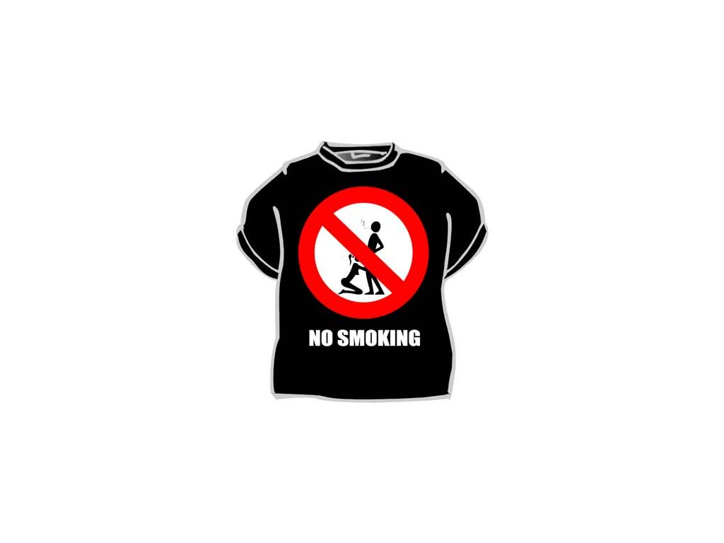 Tričko - No smoking