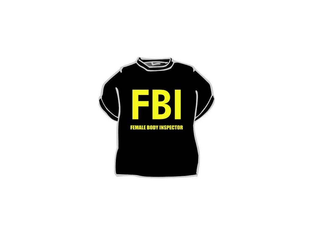 Tričko - FBI