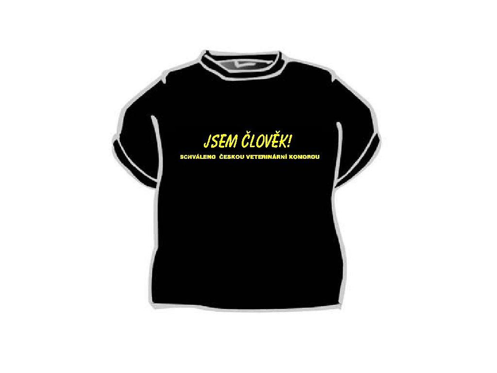 Tričko - Jsem člověk