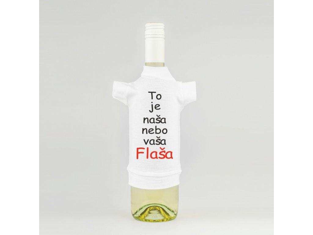 tricko na lahev flaska