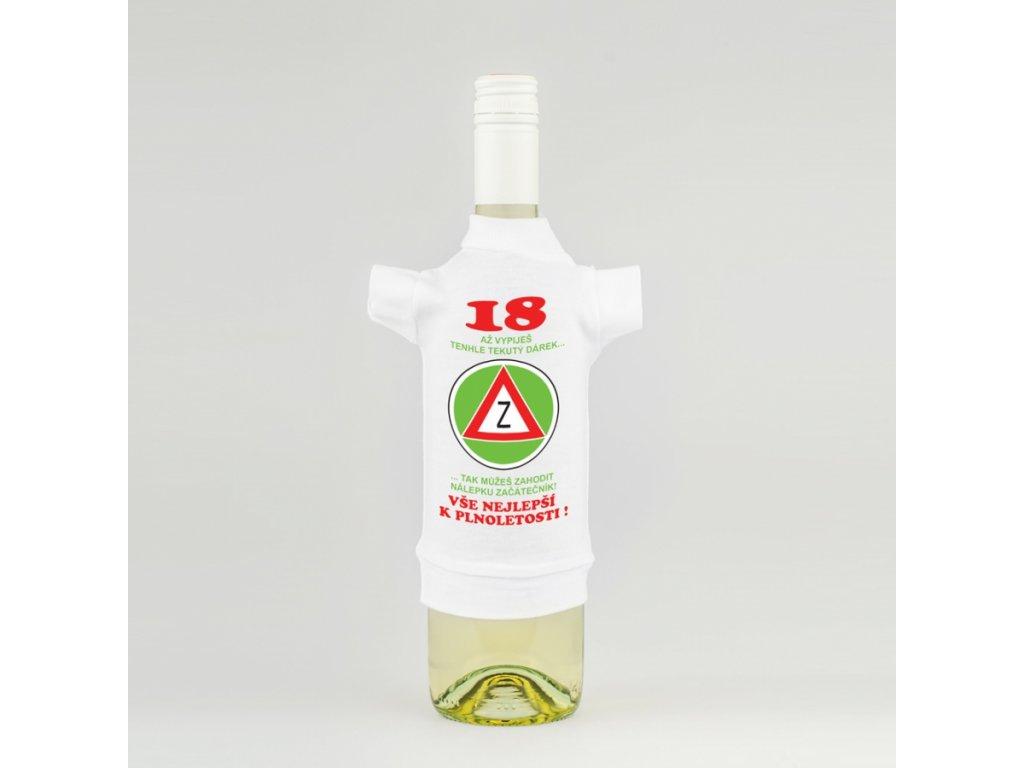 tricko na lahev 18