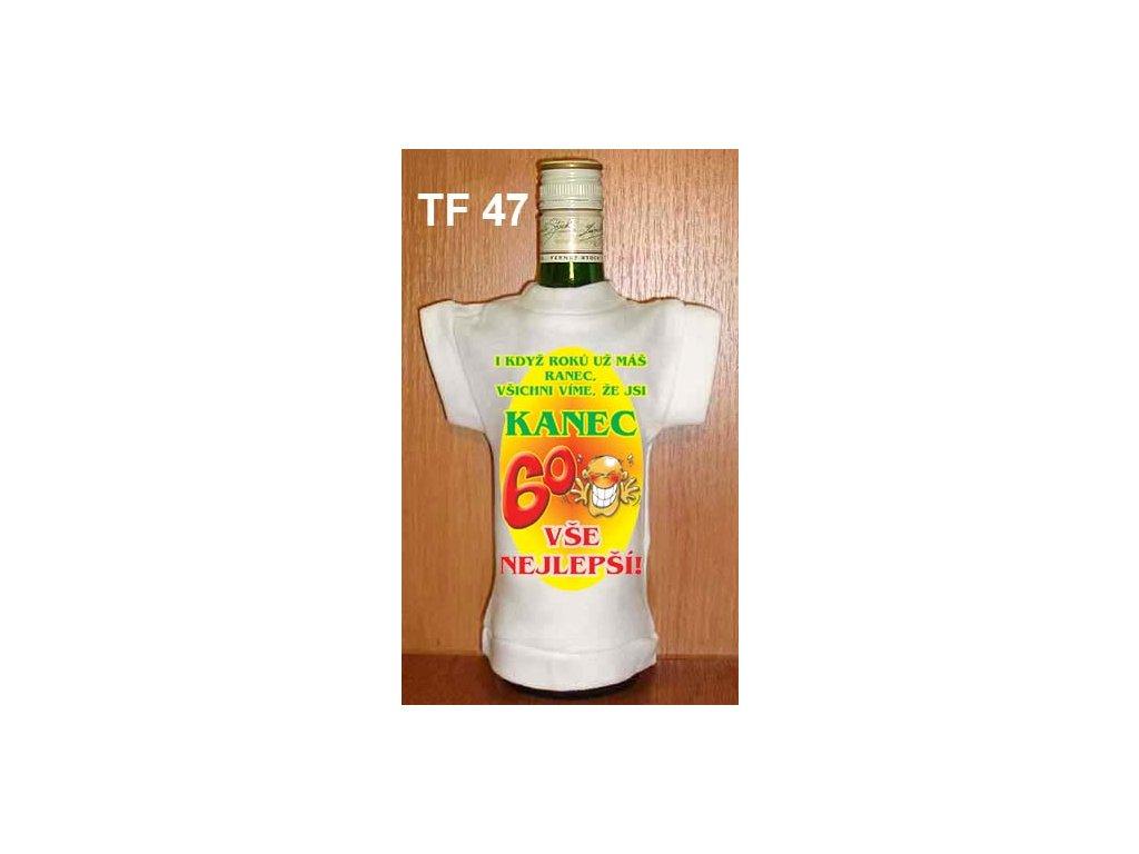 tricko na lahev kanec 60