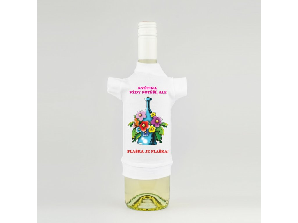 tricko na lahev kytka