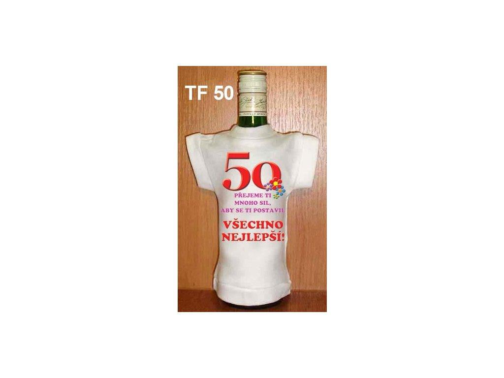 Tričko na láhev - 50