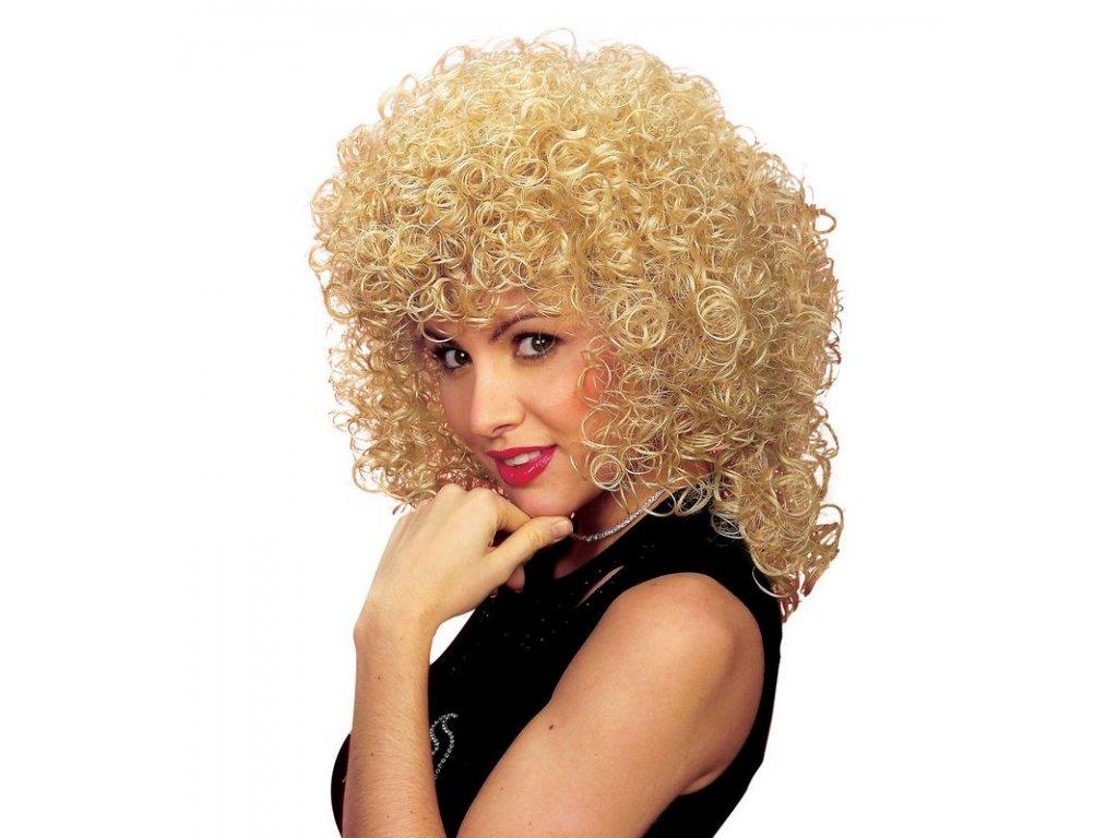 Paruka blond bohata