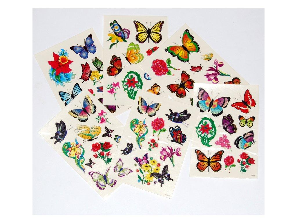 Tetovani motyli