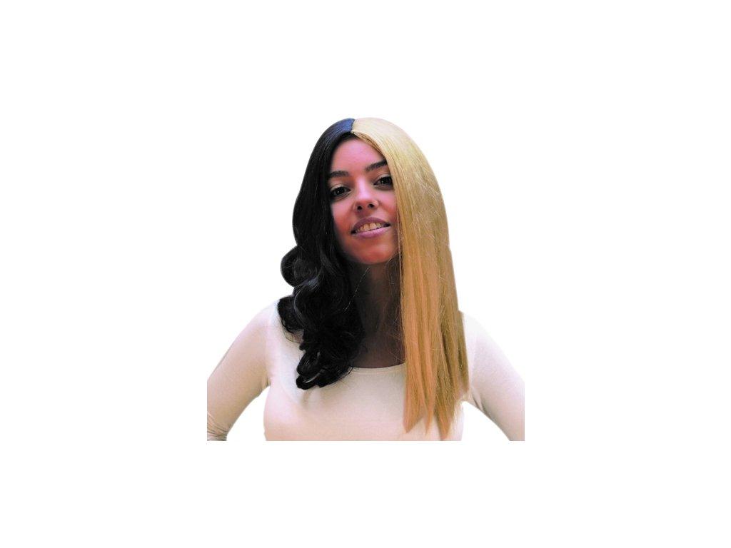 paruka blond,cerna