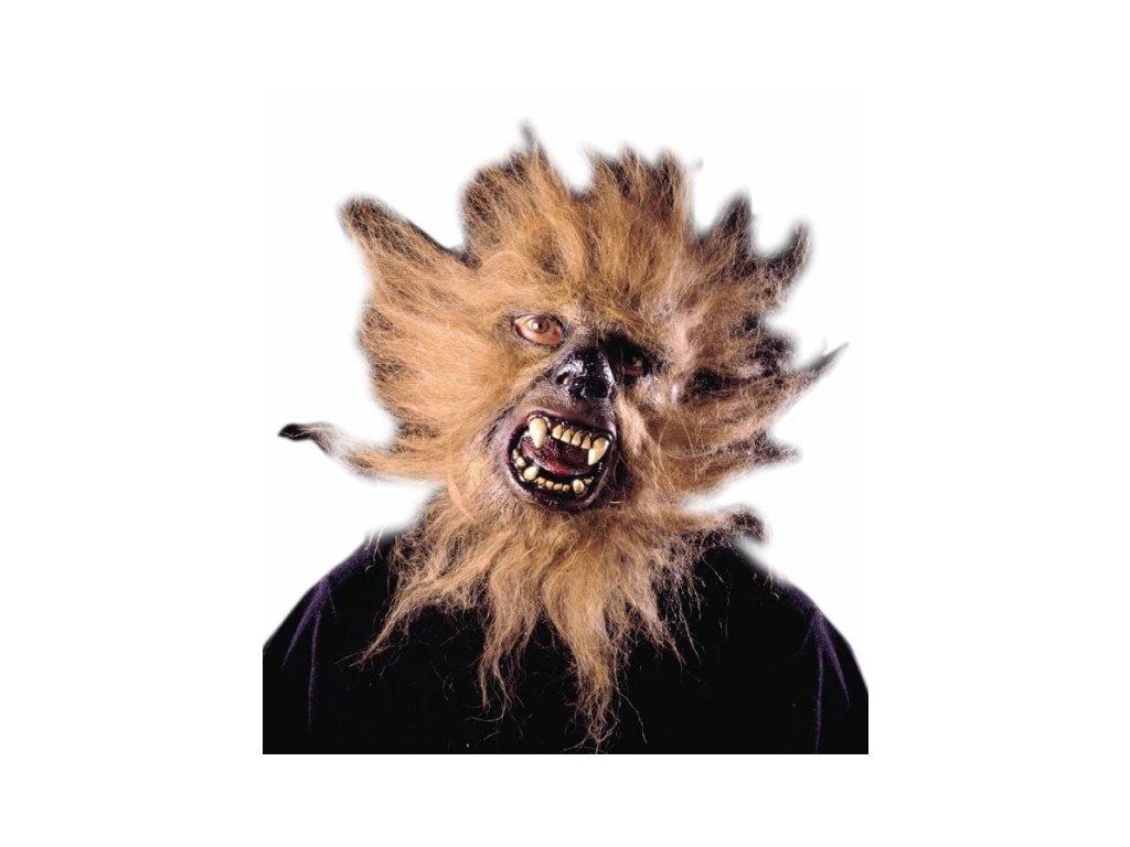 maska gorila vlkodlak s vlasy