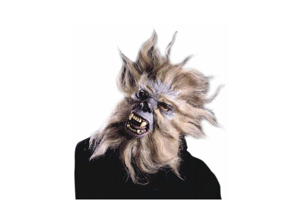 maska vlkodlak gorila s vlasy