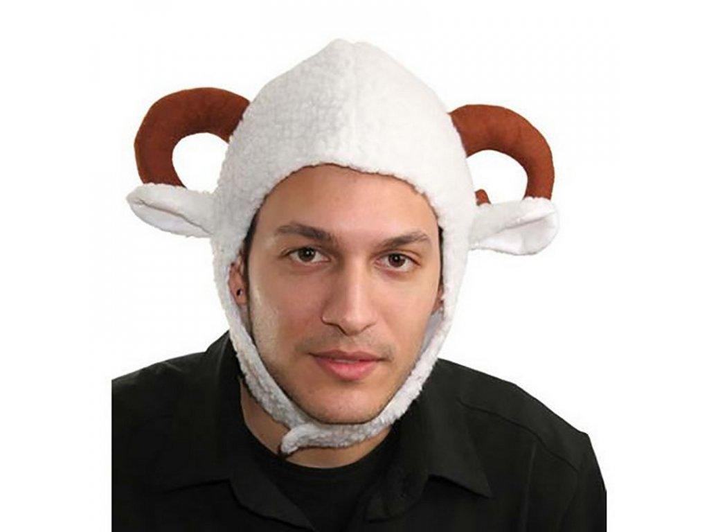 klobouk carodejnice fialovy